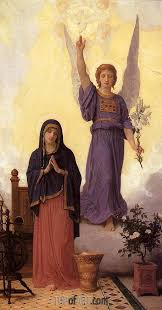 the annunciation 1888 bouguereau painting reion