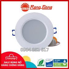 CHÍNH HÃNG] Đèn LED âm trần Rạng Đông 3W, 5W, 7W, 9W ChipLED SAMSUNG, Giá  tháng 4/2021