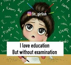 Image result for tension pic of girl in examination