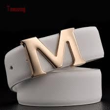 M Designer Belt Designer Belts Men High Quality M Buckle Luxury Belts Men