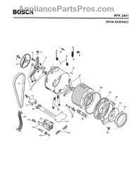 bosch 800 series washer. Bosch Do Not Use (bearing Set, Wfk European Models)-- 086309 800 Series Washer