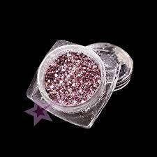 Glitter Hexagon Mix Růžovostříbrný G16