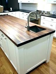 butcher block countertop care and maintenance mahogany butcher block by fine woodworking