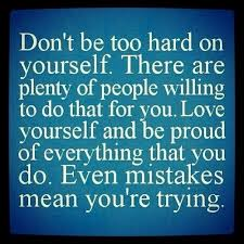 Stop Being Hard On Yourself Quotes Best of Savvy Quote Don't Be Too Hard On Yourself The Savvy Sistah