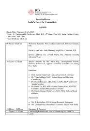 roundtable discussion on india s quest for connectivity