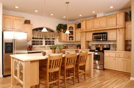 beech wood kitchen cabinets: nice charming white beech solid oak wood kitchen cabinet design