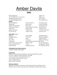 Performance Resume Template Inspiration Great Dance Performance Resume 28 For Examples With Regard To