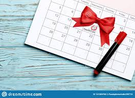 Pregnancy Day By Day Chart Planning Of Pregnancy Stock Photo Image Of Fertility