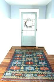 front foyer rugs indoor entry half round