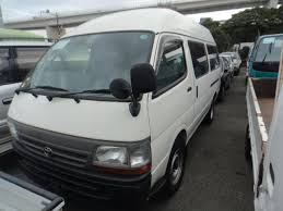 Japanese Used TOYOTA HIACE VAN HIGH ROOF LONG?DIESEL MANUAL?2WD ...