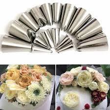 8 Pcs/Set <b>Cake</b> Decorating Tools Silicone Icing <b>Piping</b> Cream <b>Pastry</b> ...