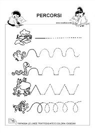 Favoloso Schede Didattiche Bambini 4 Anni Da Stampare Ia11 Pineglen