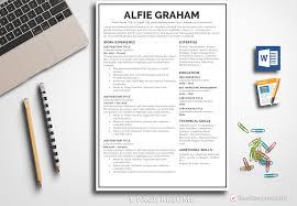 Resume Template Alfie Graham
