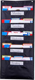 Product File Folder Storage Black Pocket Chart Teacher