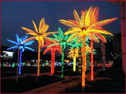 beautiful lighted palm trees for outside lighted outdoor lighted palm tree decorations a purchase artificial led coconut tree light lamp for 9 lighted