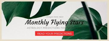 Monthly Flying Stars Chart