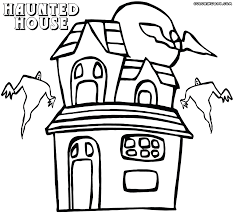 Small Picture Haunted House coloring pages Coloring pages to download and print