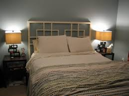 Do It Yourself Headboard Bedrooms Diy King Size Headboard Bedroom Wood Design Interesting