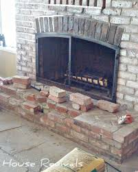 stacked stone fireplace how to diy