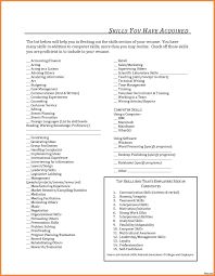 Special Skills On Resume Wonderful Acting Resume Special Skills List Contemporary Example 49