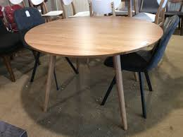 Marble Oak Round Dining Table Sold Ballard Consignment