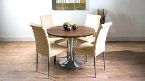 round walnut dining tables solid walnut dining table large round walnut dining table and real leather