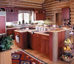 33 best log home kitchens images