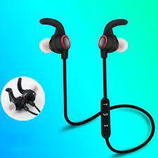 Tai nghe nhét tai không dây Bluetooth 4.1 có nam châm thời trang kèm đệm tai