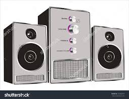 sound system clipart. stereo system clip art sound clipart