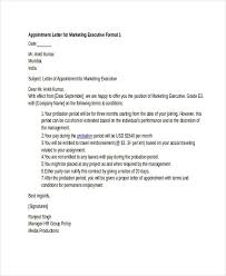 Samples Of Appointment Letter For An Employee Appointme On Joining Letter Format Doc File Best Of Format