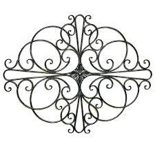 wrought iron wall art metal decor outdoor star canada