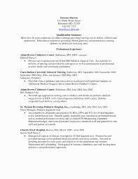 Med Surg Nurse Resume Objective New Sample Resume Medical Surgical