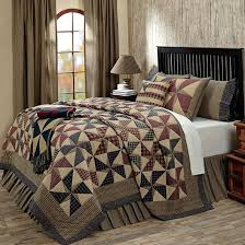 French Country Patchwork Quilted Bedspread Set Oversize King To ... & Providence Bedding And Quilts By Vhc Brands Country Quilt Baby Bedding  French Country Quilt Bedding Sets Adamdwight.com
