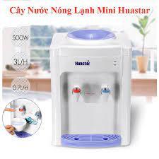 Cây nước nóng lạnh Mini Huastar 1 vòi nóng và 1 vòi lạnh với công tắc vòi nóng  lạnh riêng biệt - Máy lọc nước có điện