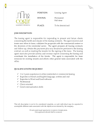 cover letter template for leasing consultant entry level examples gallery of leasing consultant careers