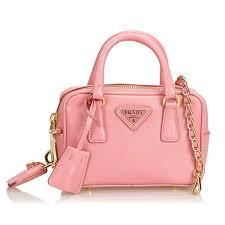 prada vintage mini saffiano leather satchel bag pink leather handbag luxury high quality avvenice