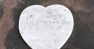 guava gardens: Ivan Andrews, 18 yrs, died 1962