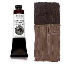 Umber Color Chart Burnt Umber 37ml Tube Daniel Smith Original Oil Color