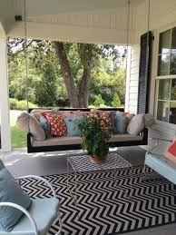 monogrammed outdoor pillow new outdoor rugs and pillows instantly add personality color and