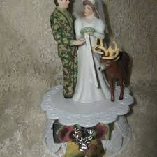 Camo Wedding Cake Toppers Design Ideas - Wedding Decor Theme