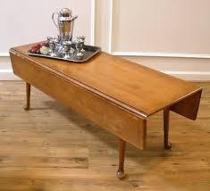 vintage drop leaf coffee table use a vintage drop leaf coffee table but with a custom base so it can old charm drop leaf coffee table