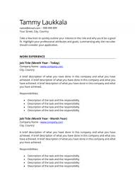 Resumes By Tammy Stunning Arlet Wagant Free CV Templates