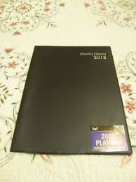 monthly planning guide jot 2018 black monthly planner 10x7 5 2019 planning guide contacts