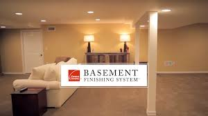 Basement Finishing System Alternative To Drywall YouTube - Finished basement ceiling ideas
