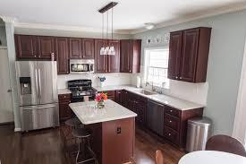 River White Granite Kitchen House Tour Kitchen Modern Camelot