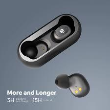 SoundPEATS True <b>Wireless</b> Bluetooth <b>Earbuds</b> in-Ear <b>Bluetooth 5.0</b> ...
