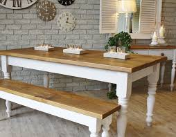 image of farmhouse kitchen tables antique