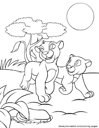 Small Picture Disneys Lion King Coloring Pages Free Disney Printable Lion King