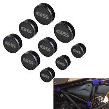 <b>9pcs</b> Frame Hole Caps Cover Plug Set for <b>BMW</b> R1200GS ...