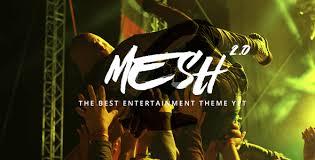MESH | Music, Band, Musician, Event, Club Theme by stylishthemes ...